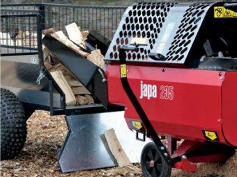 JAPA® 235 procesor pentru despicarea lemnului de foc