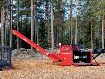 Japa® 435 – procesor pentru lemn de foc pentru profesionisti