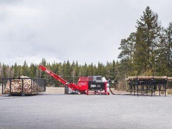 Avantajele în operare a unei linii de despicat lemn de foc
