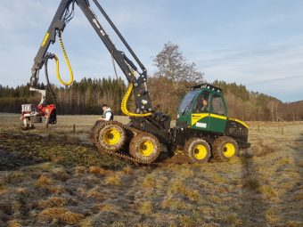 Harvester ENTRACON EH50